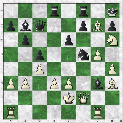 Mamedyarov Shakhriyar - Karjakin Sergey (23.Bxg7+)