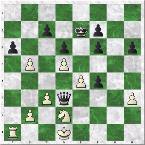 Raja Harshit - Adhiban Baskaran (31...Qxd3)