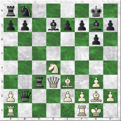 Yevseev Denis - Goganov Aleksey (14...Rc3)