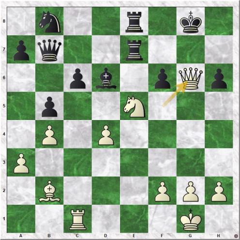Zude Erik - Marin Mihail (25.Qg6+)