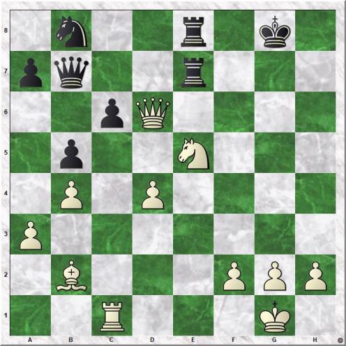 Zude Erik - Marin Mihail (31.Qxd6)