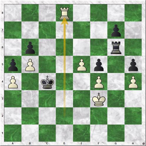 Ding Liren - Wang Hao (45.Rxd8)