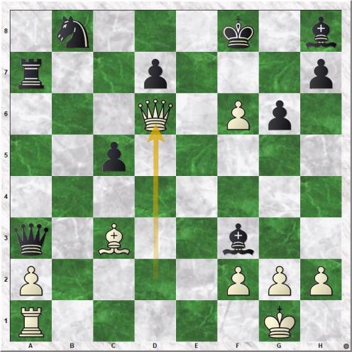 Flear Glenn C - Bhatia Kanwal K (24.Qd6+)